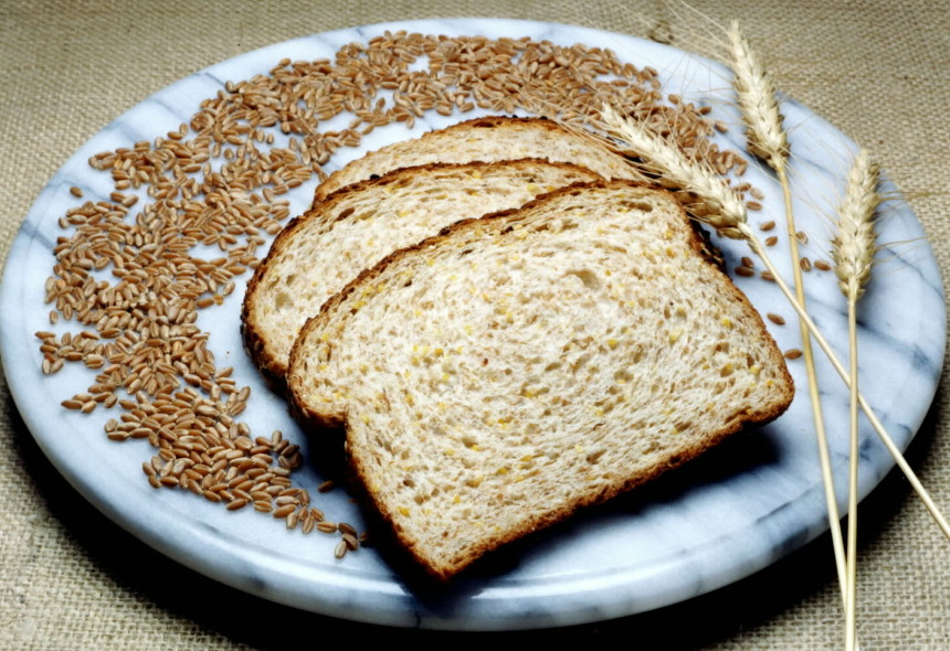 Commercial Sliced Whole Wheat Bread